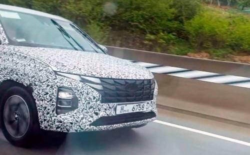 Обновленная Hyundai Creta получит внешность в стиле нового Tucson