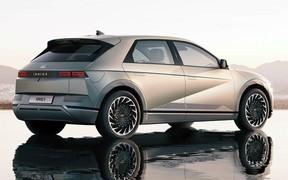В Украине начались продажи электромобиля Hyundai Ioniq 5