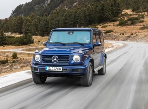 Электрический Mercedes-Benz G-Class готовят к премьере
