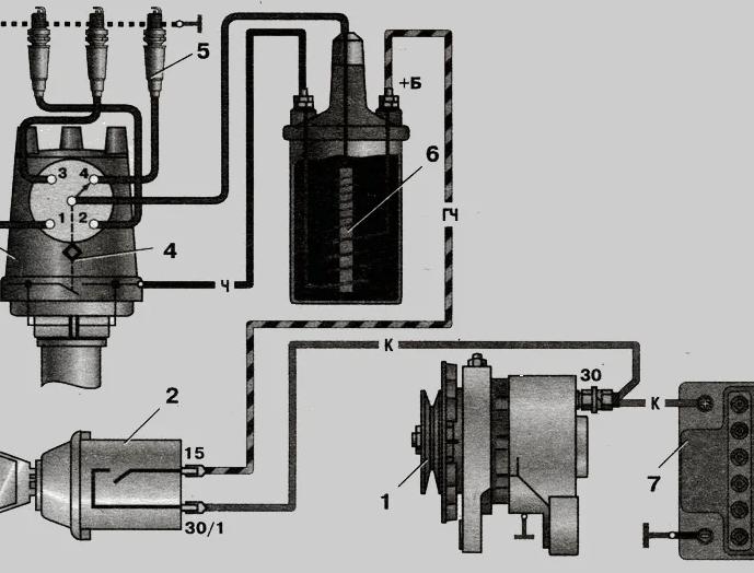 Быстрая замена системы зажигания на ВАЗ 2105